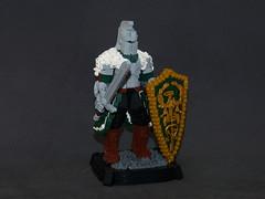 Faraam (robbadopdop) Tags: lego moc knight dark souls sword medieval statue figure fantasy