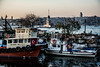 Baby marina with a view (Melissa Maples) Tags: istanbul turkey türkiye asia 土耳其 nikon d3300 ニコン 尼康 nikkor afs 18200mm f3556g 18200mmf3556g vr üsküdar boğaz sea bosphorus water kızkulesi maidenstower tower harbour marina boats strait