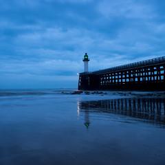 Blue Hour (Geoffroy Hauwen) Tags: canon landscape calais plage nord north colors sunset sea seascape sky