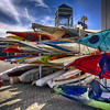 Canoe (msuner48) Tags: d750 acr5 cs4 sky canoes boats colorful jacklondonsquare oaklandca nikcollection topazlabs nikonafs24120mmf4ged