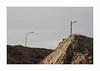 Désert (hélène chantemerle) Tags: terre tas poteaux filélectrique gris beige soilpile electricwire poles gray brown