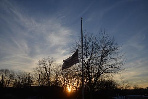 Half mast by Howard TJ, on Flickr
