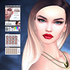 LuceMia - AKERUKA (MISS V♛ ITALY 2015 ♛ 4th runner up MVW 2015) Tags: akeruka sl new slackgirl makeup bentohead akdeluxe beatrizbentohead vampires creations beauty models lucemia