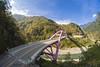 巴陵大橋 Baling Bridge Taiwan (傑可) Tags: 橋 巴陵大橋 桃園復興鄉 taiwan bridge 8mmfish fisheye