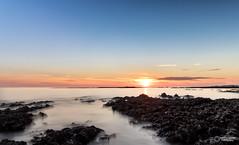 Damgan (lelargla) Tags: paysage bzh bretagne sunset wave vague france morbihan