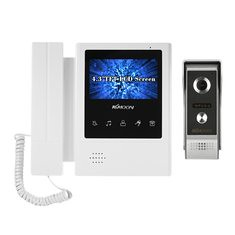 4.3 Inch LCD Monitor Wired Video Intercom Doorbell Kits Support Night Vision Camera Two Way Audio Rainproof for Video Door Phone Intercom System (1255964) #Banggood (SuperDeals.BG) Tags: superdeals banggood electronics 43 inch lcd monitor wired video intercom doorbell kits support night vision camera two way audio rainproof for door phone system 1255964