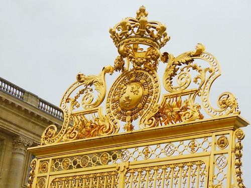 Grille royale du château de Versailles