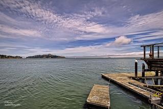 San Francisco Bay from Sausalito (California/ USA)