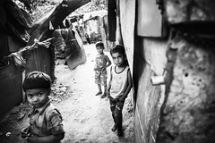 Against all odds~ New Delhi (~mimo~) Tags: slum children newdelhi india people asia docimentary photography street travel