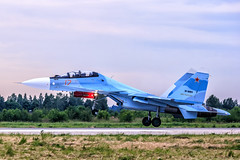 Su-30SM (RealHokum) Tags: airshow aircraft airplane army2015 russianairforce aviation kubinka sukhoi su30sm fighter flanker ef200400