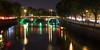 Father Mathew Bridge in Dublin (Joe Dunckley) Tags: dublin fathermathewbridge ireland irish republicofireland riverliffey bridge night river water