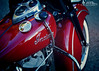 America's First Motorcycle Company (Hi-Fi Fotos) Tags: indian motorcycle bike hog cycle red vintage throwback retro american chrome tank badge gear shift fender flare nikon d7200 dx hififotos hallewell