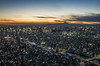 A Colorful Dusk over Tokyo (NOAC_) Tags: tokyo japan tower travel tourism skyscraper sky cloud city cityscape landscape dusk sunset light color exposure street aerial pentax k5 iis skyline urban sun panorama panoramic sharp quality asia capital cities wide angle widescreen golden hour mount fuji building water skytree