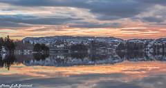 Nordåsvannet (2) (2000stargazer) Tags: nordåsvannet hop bergen norway lake reflections heaven clouds light landscape waterscape nature winter december canon