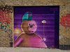 The Last of the Mohicans (Steve Taylor (Photography)) Tags: mohican cloud balloon bear woskerski punkteddyandacloud quakerstreet graffiti mural streetart tag brown green mauve purple pink red teal fun uk gb england greatbritain unitedkingdom london brick shadow sunny sunshine shutter