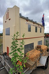 Camden Vale Milk Factory replica. (Ian Ramsay Photographics) Tags: bicentennialequestrianpark exeterstreet camden australiacelebrations 2018 depicting works featured mensshed month
