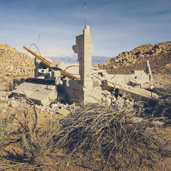 Ruins (dwblakey) Tags: ruins california blocks owensvalley concrete mining inyocounty easternsierra bishop history tungstenhills desert structures exploring junk outdoors unitedstates us