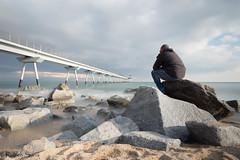 Larga exposicion en el Pont del Petroli en Badalona! Una tarde de experimentos y pruebas (r_suria) Tags: 1116 largaexposicion nikon nikond3200 paisaje playa pontdelpetroli rubensuria tokina tokina1116 badalona catalunya españa es