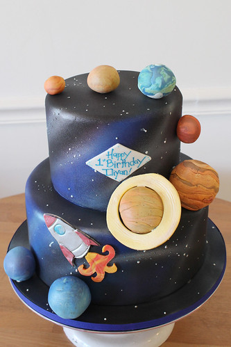 Solar System Planets Space Cake