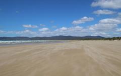 Bakers Beach, Narawntapu National Park, Tasmania (RossCunningham183) Tags: narawntapunationalpark tasmania bakersbeach sand sandstorm beach sky clouds