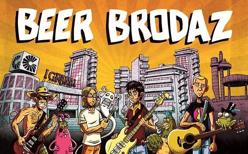 Beer Brodaz 🎸 🎨 di Dario Pallante ] ; ) ::\☮/>>http://www.elettrisonanti.net/galleria-fotografica #funky #punk #reggae #ska #pop #rock #elettritv 📲 #musica #dalvivo 🔊 #sottosuolo #music #beerbrodaz #underground #concerti :raised_