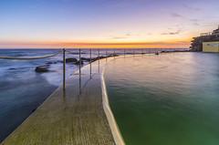 Bronte Ocean Baths (Tony Hugo) Tags: beach bronte pool rockpool sunrise ocean water sea newsouthwales australia au