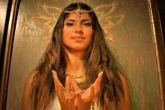 'Padma Mudra' (thomasgorman1) Tags: oil painting gallery nikon woman colors art southwest nm santafe