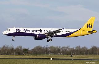 Ex Monarch A321-200 OE-IFC