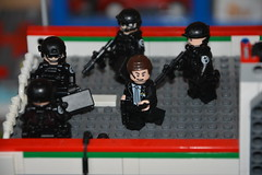 Assault Team Inbound (LegoInTheWild) Tags: moc afol lego minifigure shield coulson sidan brickarms