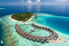 Maldives (lthuong2608) Tags: đảo núi island nước cây water tree mây trời sky nhà biển