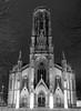 St. John's Church II (schauplatz) Tags: deutschland dunkelheit feuersee nacht stuttgart darkness night schwarzweis schwarzweiss blackandwhite blackwhite bw architecture architektur kirche church neogothic neugotisch