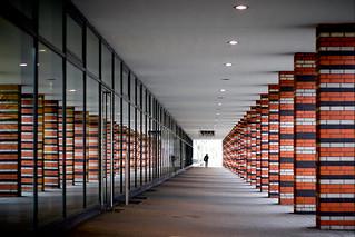 Brick pillars - modern version