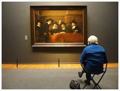 Contemplating Art (Free 2 Be) Tags: art contemplation remmbrandt amsterdam rijksmuseum 118photosin2018