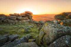 Sunrise at Pew Tor (Rich Walker75) Tags: dartmoor devon sunrise landscape landscapes landscapephotography england greatbritain canon eos100d efs1585mmisusm eos dawn winter