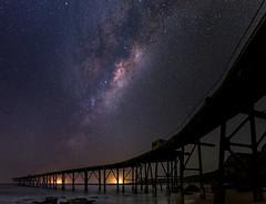 Milky Way Rising (Ray Jennings AU) Tags: milkyway catherinehillbay panorama sigma35mm14art jetty nikon nikond810 rayjennings