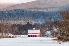 Finally (Nicholas Erwin) Tags: redbarn barn building field farm landscape winter winterwonderland snow snowscape outside camera contrast nature naturephotography nikon d610 nikkor 70200f4vr waterbury vermont vt unitedstatesofamerica usa america fav10 fav25 fav50 twilightfarm greenmountaingarlic