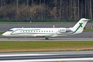 Air X Charter Canadair Challenger 850 9H-BOO ZRH 26-01-18