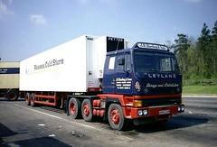 Scammell Roadtrain, A884 SHW (ergomammoth) Tags: lorry lorries truck trucks commercialvehicle leyland leylandroadtrain t45 scammellroadtrain 6x2artic articulated scammelllorriesltdwatford britishleylandtruckbusdivision jrhardingsons marstontradingestate frome roadtransport transportcontractors haulagecontractors somerset wessexcoldstores petterrefrigeration storagedistribution