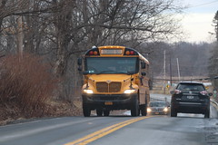 Gallagher Bus Service #319 (ThoseGuys119) Tags: gallagherbusservicecorp midstatebusservice leprechaunlines schoolbus new 2018 icce factory