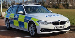 NX67 EAP (Ben Hopson) Tags: cleveland police durham constabulary cdsou brand new 2017 bmw 330d xdrive estate traffic car motor patrols sol stadium light sunderland middlesbrough derby 2018 999 blue nx67 nx67eap