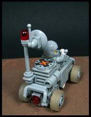 Remedial Rover (Karf Oohlu) Tags: lego moc minifig scifi rover febrovery remedialrover wheelchair