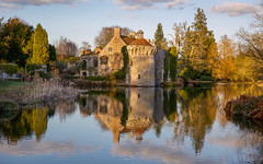 Winter Folly! (paulapics2) Tags: castle eveninglight winter scotneycastle kent canoneos5dmarkiii canonef2470mmf4lisusm nationaltrustscotneycastle reflections romantic folly 7dwf