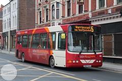 Network Warrington DK07EZJ (Mike McNiven) Tags: network warrington altrincham interchange bus wright cadet manchester trafford