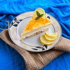 Lemon cake (natasha_natalia) Tags: lemon cream cheese cake cheesecake slice