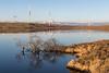 Winter Serenity (Mac ind Óg) Tags: eastrenfrewshire landscape winter whitelee reflection lochgoinreservoir windfarm waterscape scotland walking windturbine reservoir reflections