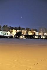 DSC05180 (jaaselin) Tags: pirkkala suomi finland cold freezing minus18 winterwonderland finnishwinter loukonlahti realwinter evening europe wonderfull happy