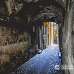 The karastic old streets in the mountain villages of France thumbnail