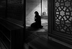 Faith (Tilemachos Papadopoulos) Tags: qoq mosque winter turkey fujifilm fuji fujinon istanbul indoors mono monochrome people portrait street xe2 contrast bw blackandwhite mirrorless suleymaniye camii