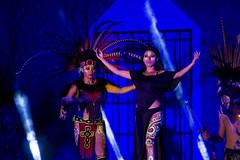 Fiesta Dancers - Native Ritual (aaronrhawkins) Tags: dance stage fiesta maya mexico aztec ritual sacrifice human girl woman perform performance imitate tulum bahiaprincipe night evening rivieramaya mayanriviera yucatan peninsula native indian maiden costume wild dark aaronhawkins
