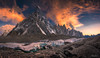 The Throne Room Of The Mountain Gods (Andrew Hosegood) Tags: concordia pakistan baltistan himalayas k2 mitre peak sunset colours baltoro glacier trek andrew hosegood